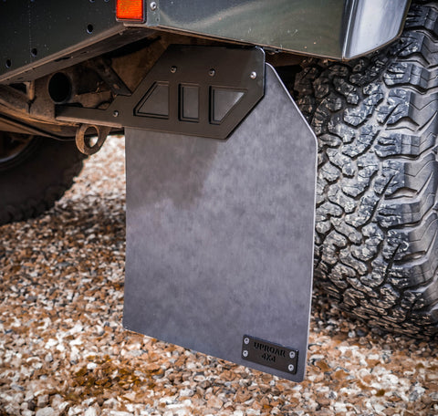 Land Rover Defender Stainless Steel mudflap brackets