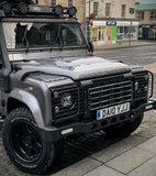 Land Rover Defender Stainless Steel Front Grille