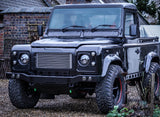 Land Rover Defender Metal Headlight Surrounds - Uproar 4x4
