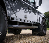 Land Rover Defender stainless steel Rocksliders
