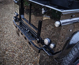 Land Rover Defender Stainless Steel Hurricane Rear step - Uproar 4x4