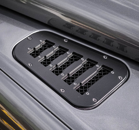 Land Rover Defender Stainless Steel Wing top vents