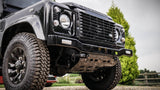 Land Rover Defender Stainless Steel Renegade Front Bumper