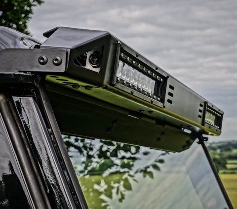 Land Rover Defender Stainless steel LED roof bar