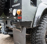 Land Rover Defender Rear corner Protectors stainless steel