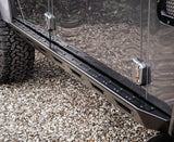 land Rover Defender Stainless Steel Stealth Rocksliders