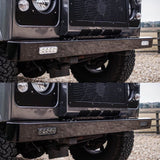 Land Rover Defender Stainless Steel LED bumper