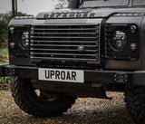 Land Rover Defender Stainless Steel Lower Grille / Splitter - Uproar 4x4