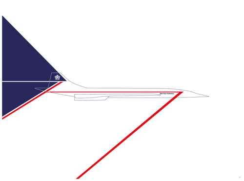 BAC Concorde - British Airways