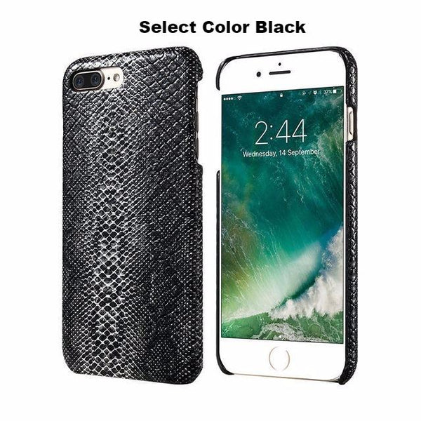 Snakeskin Pattern Cover For iPhone 5, 5S, SE, 6,6S, 6 Plus, 7 ,7 Plus  - Free Shipping