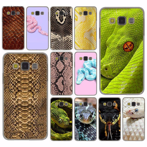 Snake Pattern Case for Samsung Galaxy S8 Plus S3 S4 S5 & Mini S7 Edge S6 Edge Plus