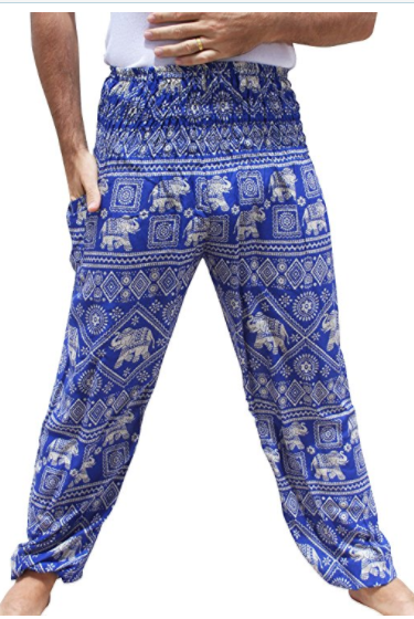 India Elephant Boho Harem Yoga Pants (6 Colors)