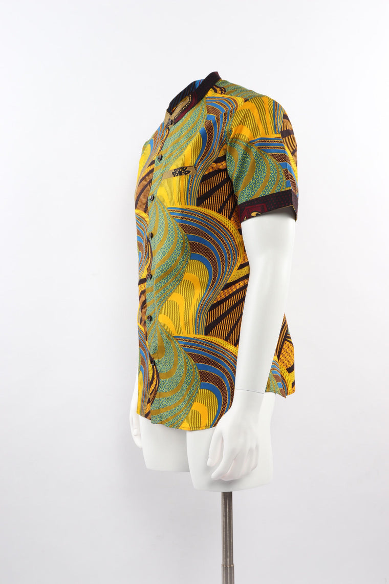 Kofi Short Sleeved Print Shirt