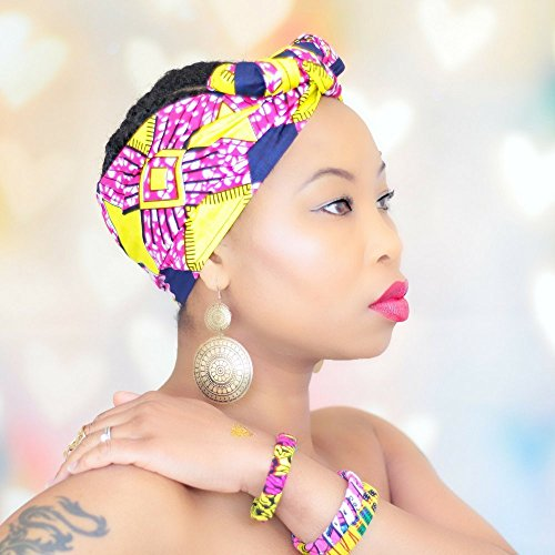 Leslie Handmade Turban Head Wrap