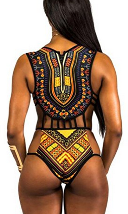 Nala Print Women's Bikini One-Piece
