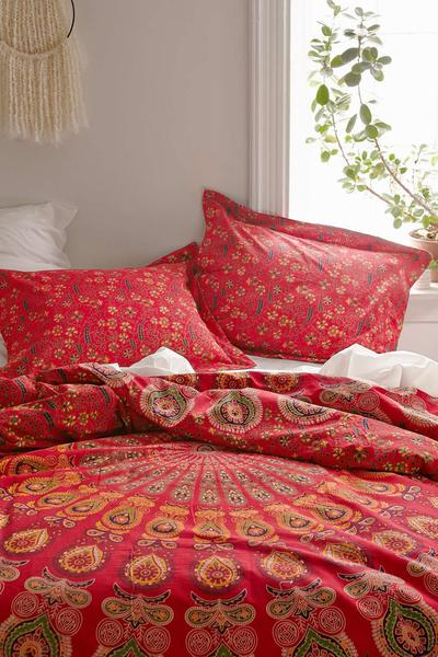 cover fairy bohemian boho striped bedding shop set duvet