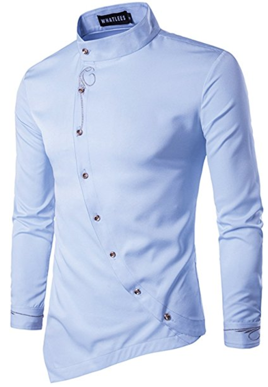 Toure African Long Sleeve Design Button up Shirt