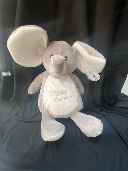 Cuddly Ellie Elephant (cheerleader)