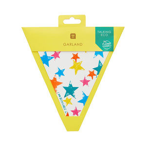 4m Paper Star Bunting (Pack of 1) - Talking Tables