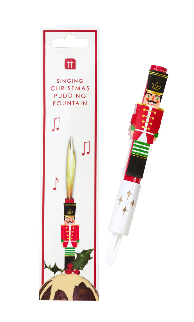 Botanical Nutcracker Singing Ice Fountain CDU