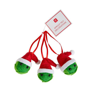 Felt Dec - Sprouts (Set Of 3)