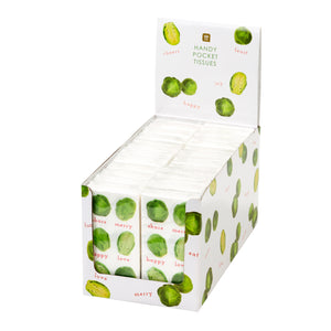Botanical Sprout Pocket Tissues in CDU
