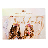 Blossom Girls Bride to Be Garland