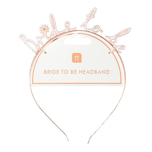 Blossom Bride Bride To Be Headband