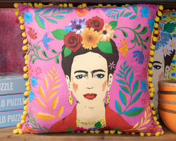 Boho Frida Pink Cushion 45X45Cm