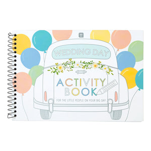 Wedding Day Activity Book for Kids