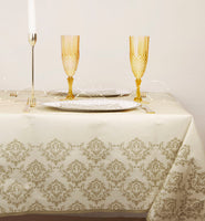 Damask Gold Table Cover