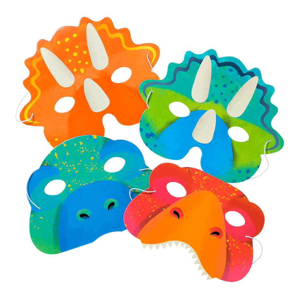 Party Dinosaur Masks