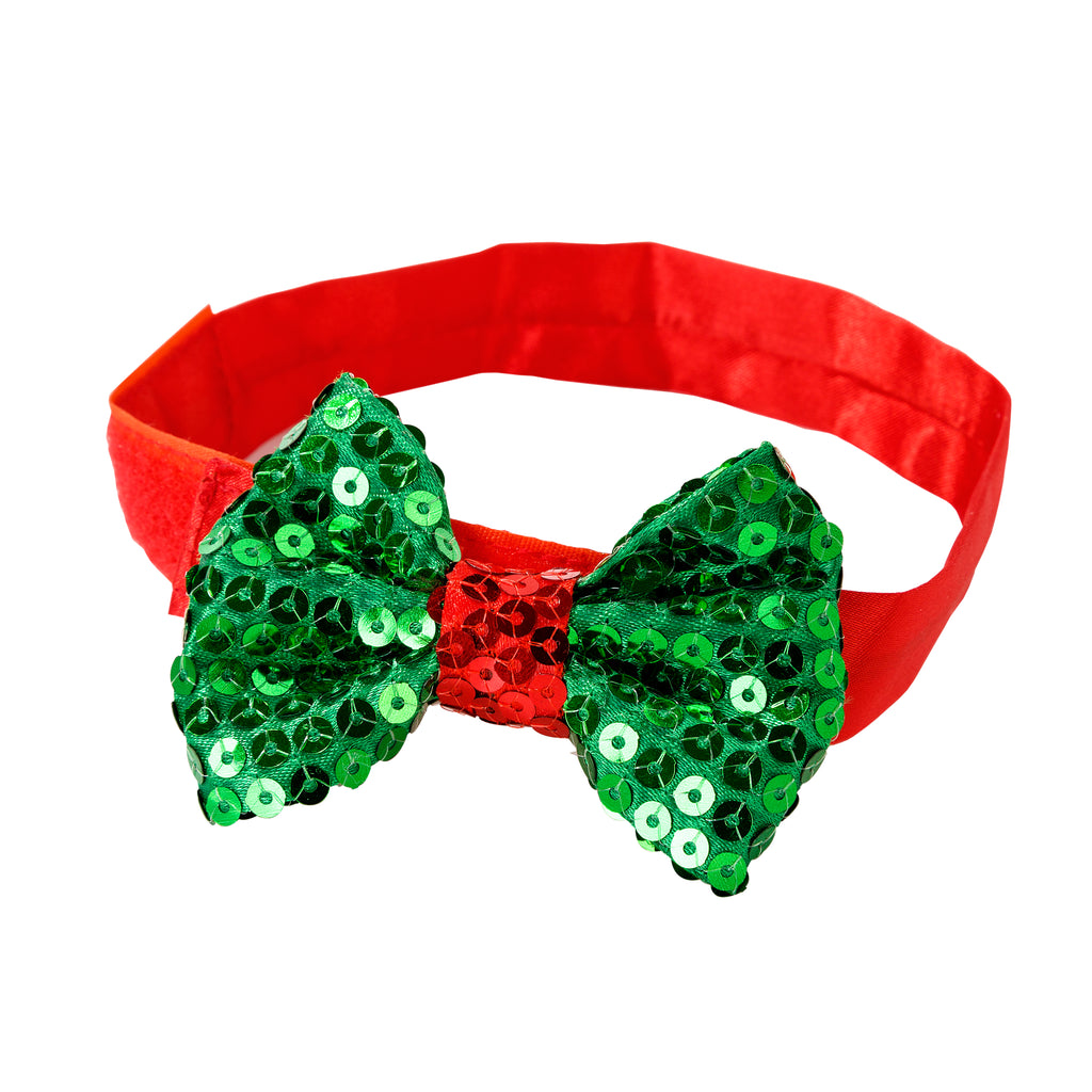 Christmas Entertainment Pooch Bow Tie