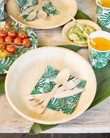 Tropical Fiesta Palm Leaf Paper Cups