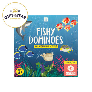 School Of Fish Fishy Dominoes