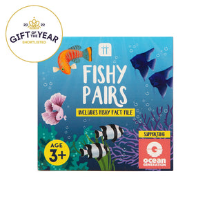 School Of Fish Fishy Pairs Memory Match Game