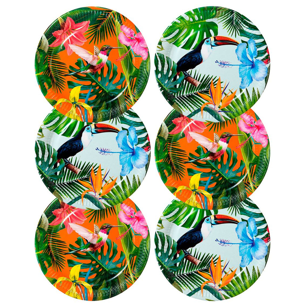 Tropical Fiesta Plates