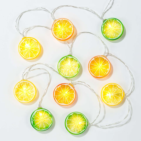 Tropical Fiesta Citrus Lights