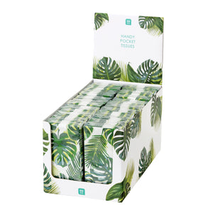 Palm Print Pocket Tissue POS
