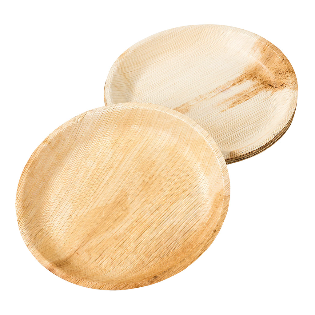 Eco-Friendly Palm Leaf Medium Plates