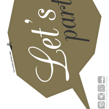Printable - Glitterati Photoprop