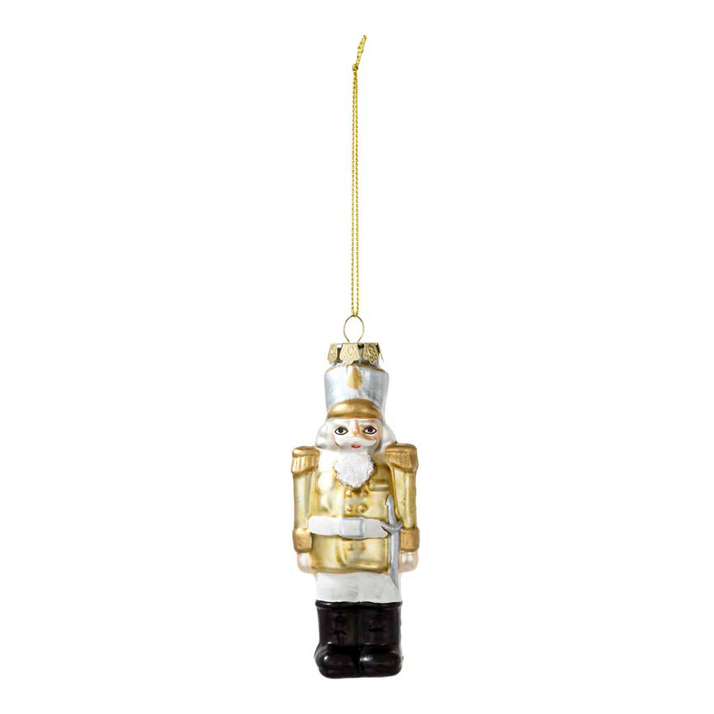 Nutcracker Glass Tree Decoration