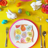 Hop To It Egg Napkins