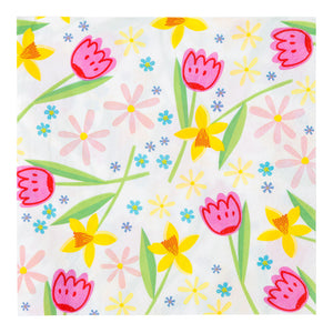 Hop To It Floral Napkins