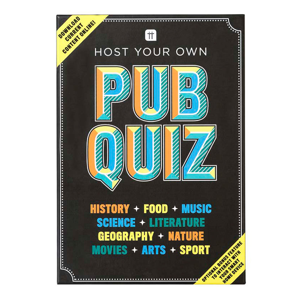 Host Your Own Pub Quiz