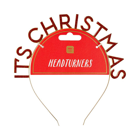 Head Turners It'S Christmas Headband