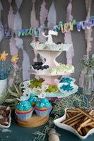 We Heart Mermaids Cake Toppers