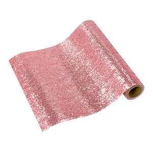 Luxe Pink Glitter Table Runner, 1.8m