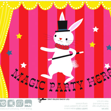 Printable - Magic Party