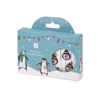 Penguin Parade LED String Lights